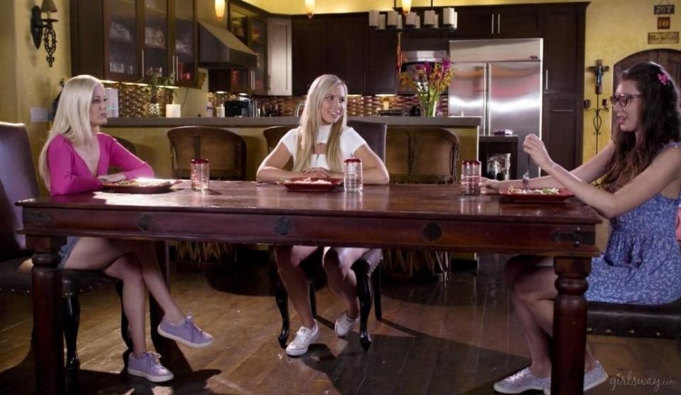 [Full HD] Aidra Fox, Charlotte Stokely, Elena Koshka. Blind Taste Test Mix - SiteRip-00:35:57 | Size - 1,8 GB