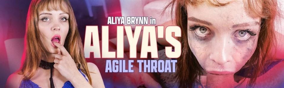 [4K Ultra HD] Aliya Brynn - Aliya'S Agile Throat Aliya Brynn - SiteRip-00:22:54 | Lingerie, Blowjob, Masturbation, Gagging, Gonzo, Deepthroat, Saliva, Small Tits, Brunette, Facial - 2,4 GB