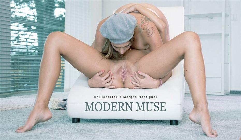 [Full HD] Ani Blackfox, Morgan Rodriguez. Modern Muse Ani Blackfox, Morgan Rodriguez - SiteRip-00:43:36 | Kissing, Shaved, Lesbian, Oral, Pussy Licking, Teen - 1,9 GB