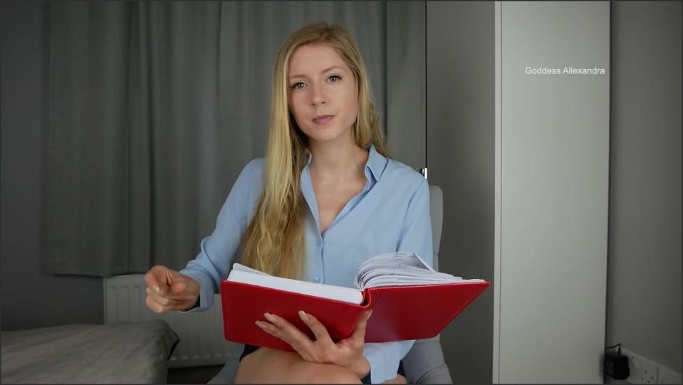 [Full HD] Goddess Allexandra - Sex Therapy - Fantasy Goddess Allexandra - Manyvids-00:14:56 | Size - 1,1 GB