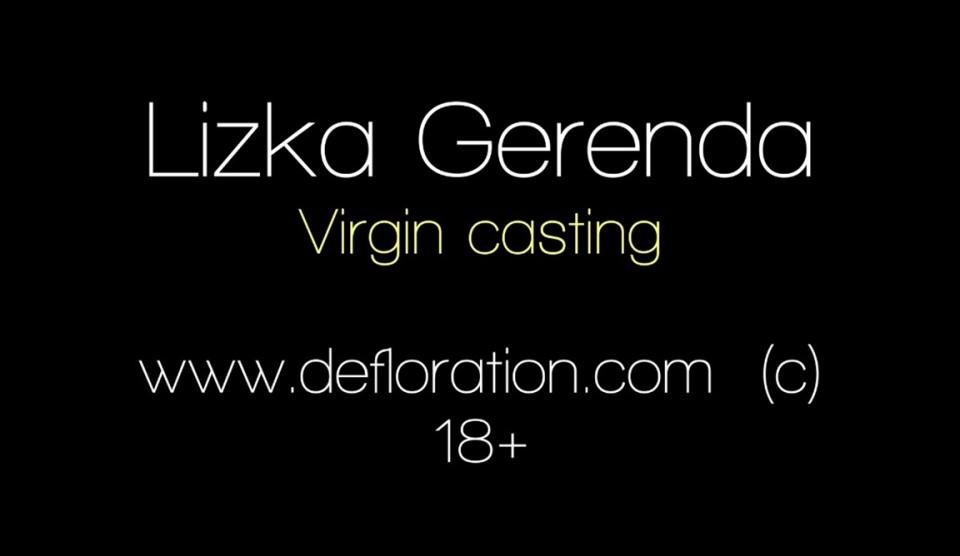 [Full HD] Lizka Gerenda - Virgin Casting Mix - SiteRip-00:13:59 | Posing, Masturbation, Casting, Interview - 1017 MB