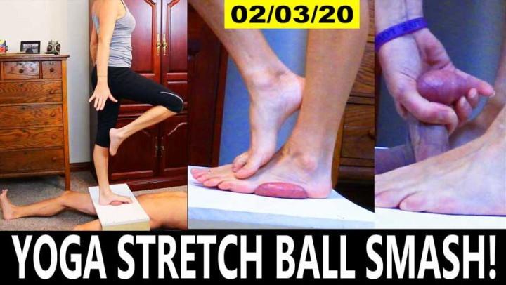 [Full HD] Soccermommistress Yoga Stretch Ball Smash SoccerMomMistress - ManyVids-00:16:11 | Ballbusting,CBT,Femdom,MILF,Trampling - 1,7 GB