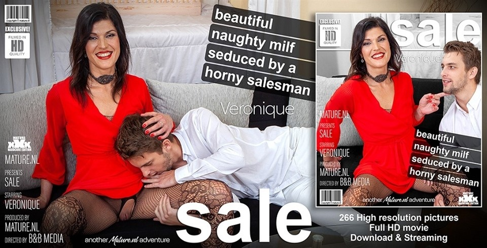 [Full HD] Veronique - Beautiful MILF Veronique Has A Young Salesman Over Veronique (42) - SiteRip-00:29:17 | MILF, Old, Blowjob, Shaved, Toy Boy, Cum, Masturbation, Creampie - 1,8 GB