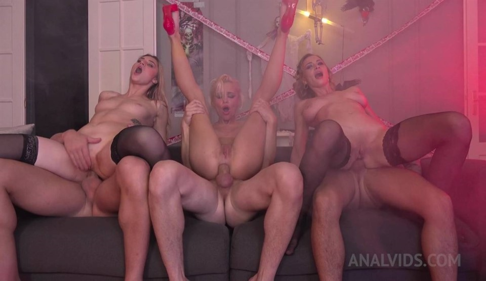 [HD] Anally Vampire Halloween party DAP Mix - SiteRip-00:49:34 | Ass To Mouth, Cum Swallowing, Deep Throat, Anal, ATP, Costumes, Facial, Big Tits, Gapes, Teens, Butt Plugs, Natural Tits, Ass Lickin...