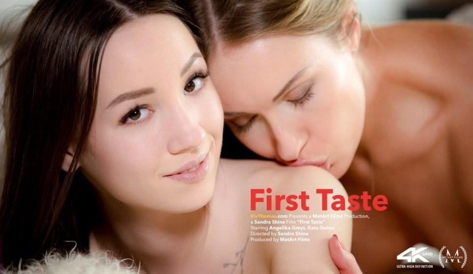 [4K Ultra HD] Angelika Greys & Kate Quinn - First Taste Angelika Greys & Kate Quinn - SiteRip-00:23:00 | Lesbian, Brunette, Blonde - 4,9 GB