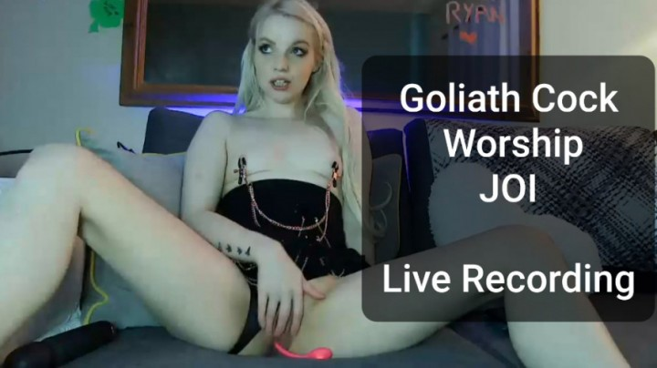[HD] belleblake live cam goliath cock worship joi BelleBlake - ManyVids-00:04:02 | Cock Worship,Dirty Talking,Flashing,JOI,Nipple Clamps - 38,6 MB