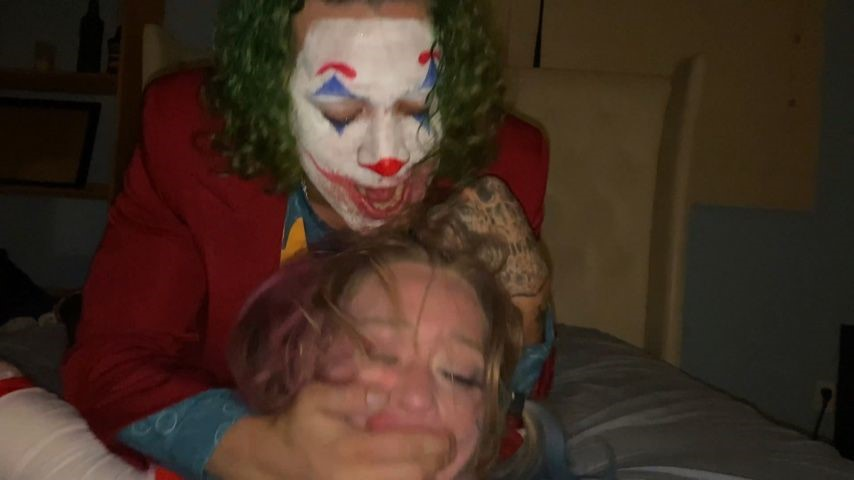 [4K Ultra HD] Brunodickemz The Joker And Harley BrunoDickemz - ManyVids-00:26:32 | Cosplay,Hardcore,Spitting,Face Slapping,Rough Sex - 1,9 GB