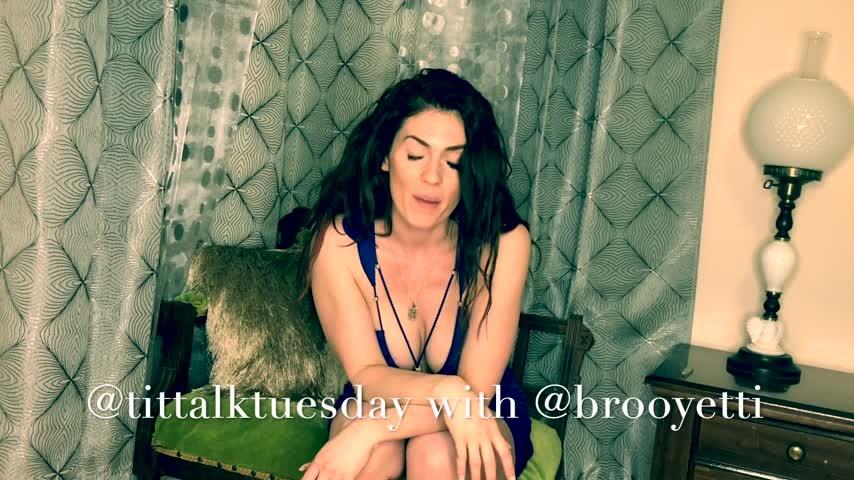 [Full HD] Iamyetti Tit Talk Tuesday Episode 1 Iamyetti - ManyVids-00:12:35   Funny Moments,Funny Vid,Intelligence Fetish,Adult School,Brunette - 1,8 GB