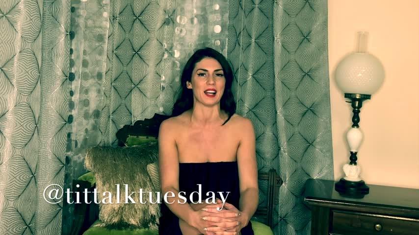 [Full HD] Iamyetti Tit Talk Tuesday Episode 9 Iamyetti - ManyVids-00:16:56 | Intelligence Fetish,Crying,Religious,Brunette,Adult School - 2,4 GB