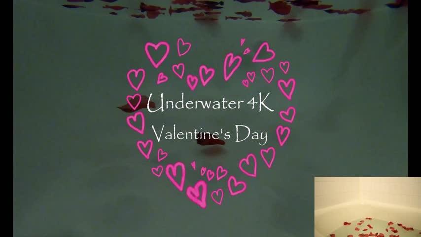 [4K Ultra HD] Kitty Moon Underwater 4K Valentines Teaser Kitty Moon - ManyVids-00:01:37 | 4K,Masturbation,POV,Underwater Fetish,Valentine'S Day - 163,9 MB