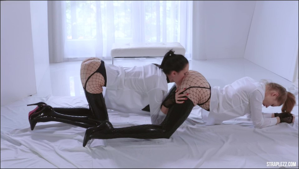 [Full HD] Merry Pie And Mia - Latex And Fishnets Merry Pie, Mia - SiteRip-00:24:18 | Fishnets, Latex, Cunnilingus, Kissing, High Heels, Stockings - 1 GB
