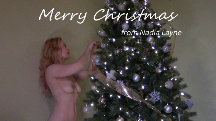 [Full HD] Nadia Layne Yoga Christmas Stripping And Ass Worship Nadia Layne Yoga - ManyVids-00:06:41 | Ass Worship,Erotic Nude,Ass Spreading,Pussy Spreading,Christmas - 386,9 MB