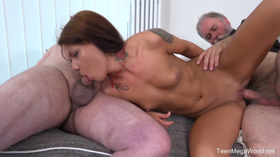 [Full HD] Riana G Aka Sofia Like - Cutie Gets Old Sandwich For Help Riana G Aka Sofia Like - SiteRip-00:27:41 | Old And Young, Threesome, All Sex, Blowjob, Facial - 2 GB