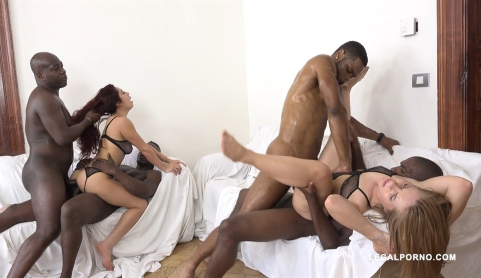 [HD] Sasha Zima & Dana Santo - two whores going crazy for big black cock Part 2 IV087 Sasha Zima, Dana Santo, Joachim Kessef, Yves Morgan, Antonio Black, Darrel Deeps. - SiteRip-00:49:40 | Anal, DA...