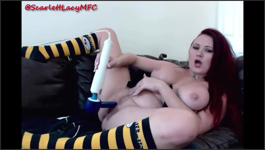 [SD] Scarlettlacy Steelers Nation ScarlettLacy - ManyVids-00:08:47 | Big Boobs,Cumshots,Redhead,Tit Worship,Titty Fucking - 64 MB