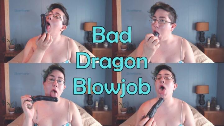 [Full HD] Silverthorne Bad Dragon Blowjob Silverthorne - ManyVids-00:03:18 | Bad Dragon,Dildo Sucking,Gagging,Spit Fetish,Swallowing / Drooling - 106,4 MB