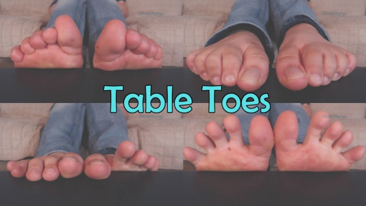 [Full HD] Silverthorne Custom Table Toes Silverthorne - ManyVids-00:02:41 | Barefoot,Foot Fetish,Long Toes,Toe Fetish,Toe Wiggling - 86,2 MB