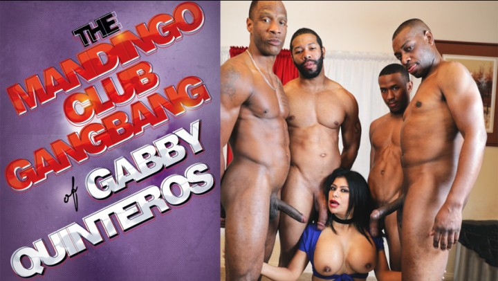 [4K Ultra HD] The Mandingo Club The Mandingo Club Gangbang Of Gabby Q The MANDINGO Club - ManyVids-00:27:49 | Creampie Gangbang,BBC,Interracial,Slut Training,Latina - 2 GB