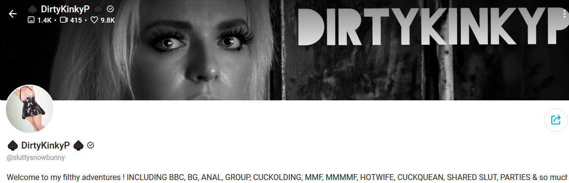 "OnlyFans, SiteRip, DirtyKinkyP ""@sluttysnowbunny"" 39.1 GB"