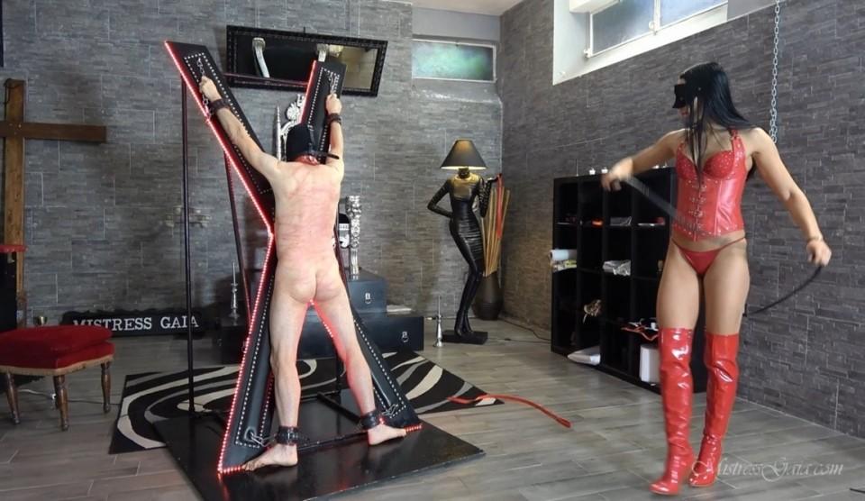 [Full HD] MISTRESS GAIA №1 Mistress Gaia - SiteRip-00:13:14   Femdom, Whipping - 601,8 MB