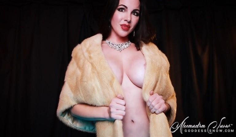 [Full HD] Alexandra Snow Alexandra Snow - GoddessSnow-00:12:39 | Goddess Worship, Topless, Glamour Nude, Mind Fuck, Furs, Femdom, Brunette - 866,7 MB