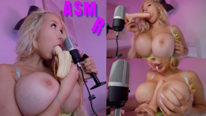 [Full HD] amandatoy giant tits perv multiple sound asmr amandatoy - ManyVids-00:14:43 | Big Tits,ASMR,Food Porn,Deepthroat,Spitting - 2,1 GB