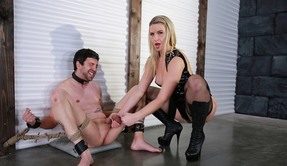 [Full HD] Anikka Albrite. Bound For Busting Anikka Albrite - FemdomEmpire-00:10:35 | High Heels, Pornstar, Blonde, Big Butt, Stockings, Ball Busting, Femdom, CBT - 898 MB