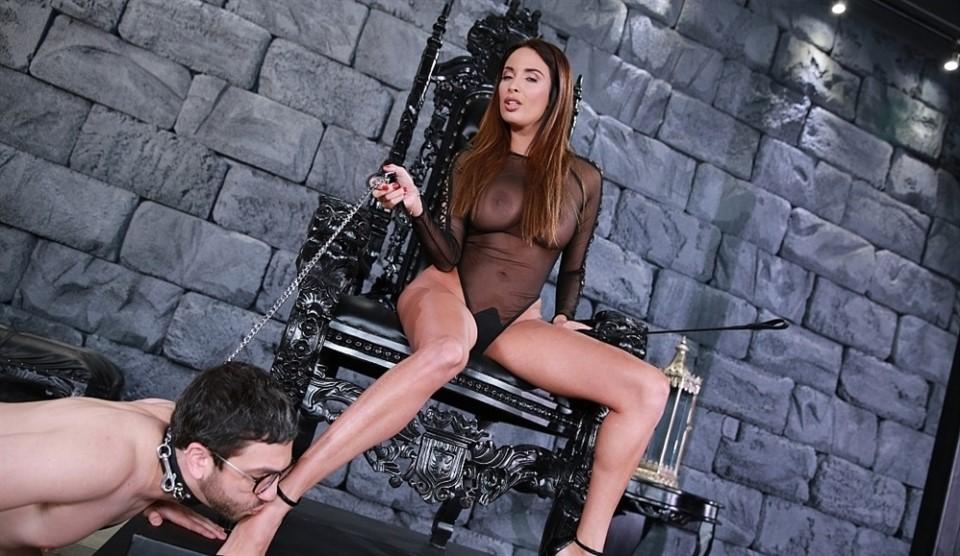 [Full HD] Anissa Kate. Worship Goddess Anissa Anissa Kate - FemdomEmpire-00:15:28 | Brunette, Femdom, High Heels, Pornstar, Big Tits, Foot Worship - 1,3 GB