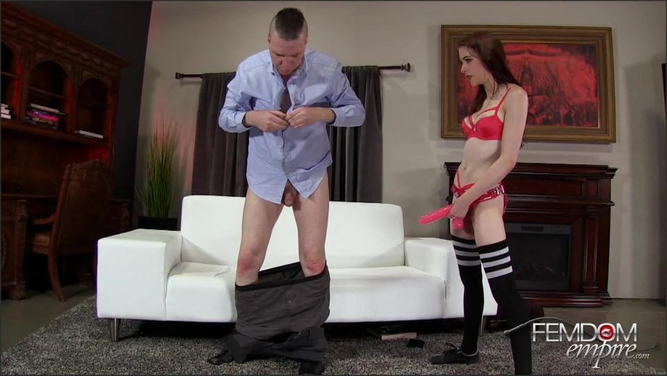 [Full HD] Anna Deville. Debt for Dick Anna Deville - FemdomEmpire-00:18:08 | Small Tits, Strapon, Stockings, Brunette, Femdom - 1,1 GB