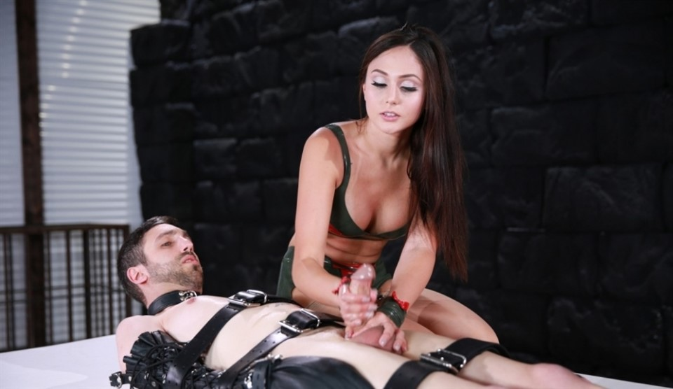 [Full HD] Ariana Marie. Ruined Opportunity Ariana Marie - FemdomEmpire-00:16:29 | Latex, High Heels, CBT, Femdom, Tease And Denial, Ruined Orgasms, Vibrator, Edging, Face Sitting, Brunette, Stockings - 1,4 GB