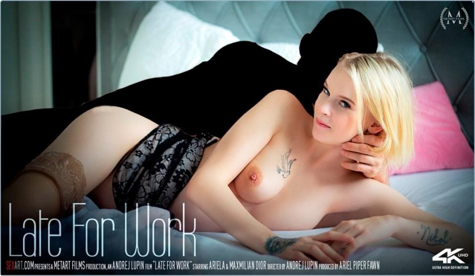 [HD] Ariela &Amp; Maxmilian Dior - Late For Work Ariela - SiteRip-00:24:14 | Blonde, All Sex, Bedroom - 705,1 MB