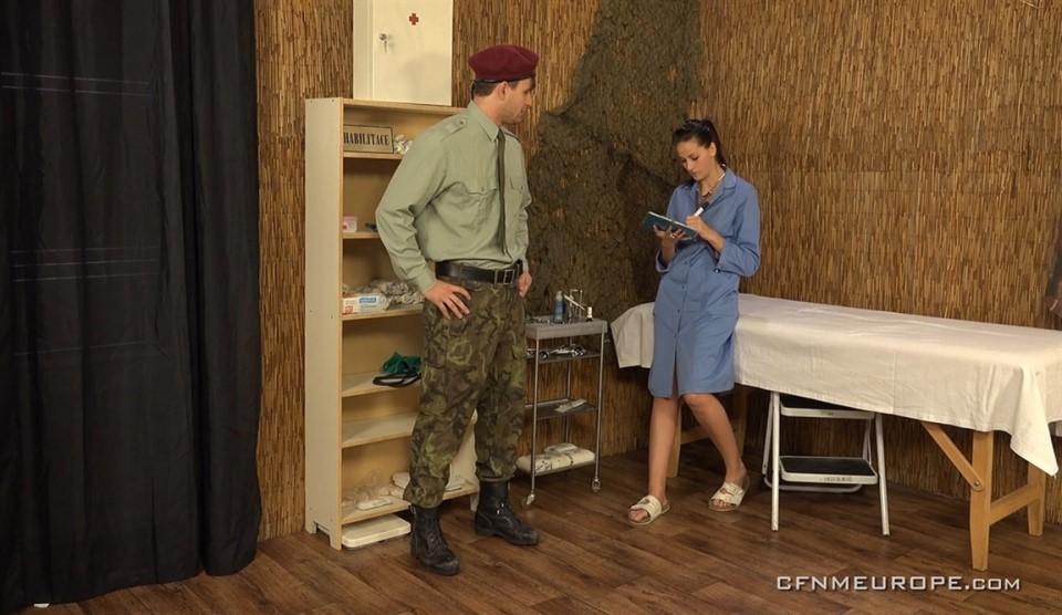 [Full HD] Army Games Viktor Burek, Mia Sky (Aka Mia, Alla, Nella) - CFNMEurope.Com-00:45:29 | Strapon, Pissing, Femdom, Fingering, CFNM, Handjob - 1,3 GB