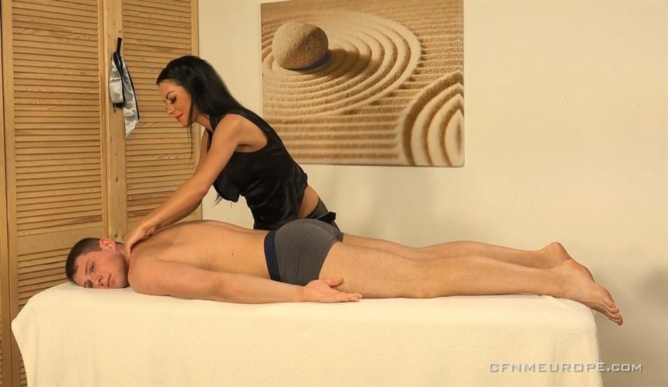 [Full HD] Aron'S Massage Aron Ros, Inga Devil - CFNMEurope.Com-00:42:33 | Spanking, Femdom, CFNM, Strapon, Handjob, Toys - 1,2 GB