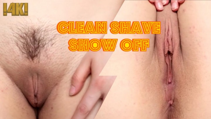 [4K Ultra HD] Ava Luna 4K Clean Shave Show Off Ava Luna - ManyVids-00:03:25 | Close-Ups,Extreme Close-Ups,Pussy Teasing,Shaved - 381,8 MB