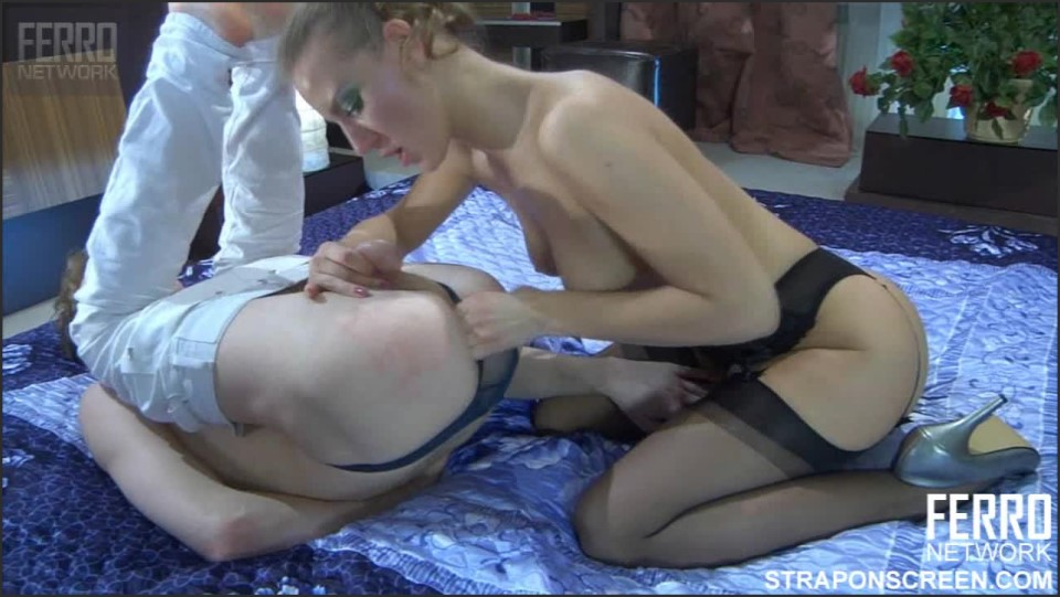 [HD] Barbara, Austin A Mix - SiteRip-00:12:52 | Russian, Femdom, Anal, Female Domination, Strap On, Submission - 303,1 MB