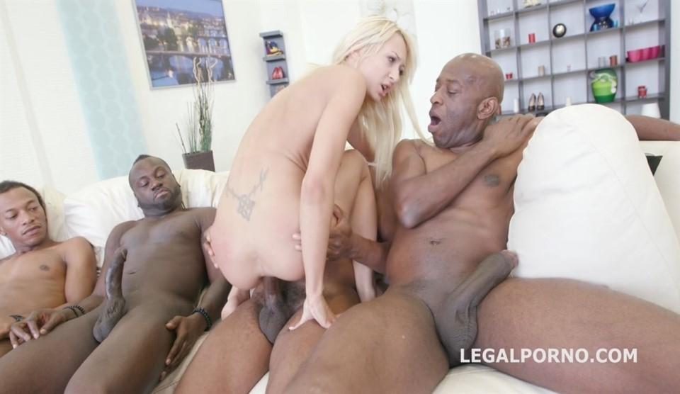 [HD] Black Busters 5On1 Lola Shine Interracial DP Mix - SiteRip-00:43:44 | Gonzo, Anal - 1,4 GB