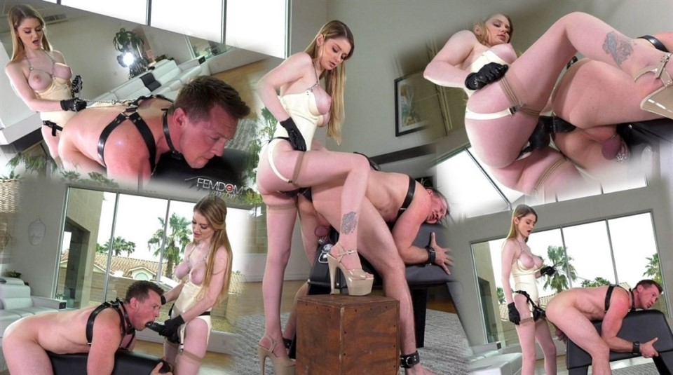 [Full HD] Bunny Colby - Man Maids Bunny Colby - FemdomEmpire.com-00:16:01   Chastity, Pegging, Stockings, Anal, Strapon, Femdom - 1,1 GB