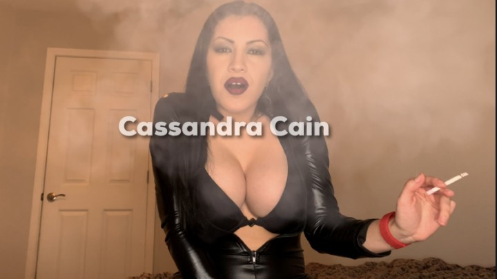 [4K Ultra HD] cassandra cain the extractor Cassandra Cain - ManyVids-00:10:27 | Big Tits,Bound,Femdom POV,Non-Nude,Smoking - 1,8 GB