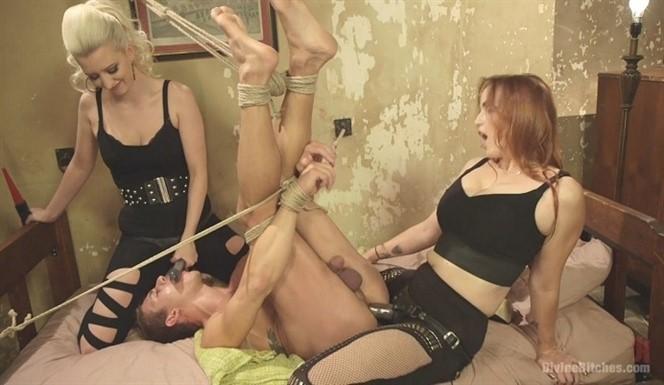 Cherry Torn, Bella Rossi And Alexander Gustavo. Hottest FemDom Sex Ever Filmed