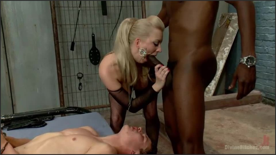 [SD] DivineBitches.com Cherry Torn, Jason Brown, Micky Mackenzie - SiteRip-00:51:33 | Strapon, Humiliation, Cuckold, BDSM, FemDom, Bondage, Interracial - 565,1 MB