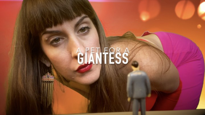 [Full HD] Dommetomorrow A Pet For A Giantess DommeTomorrow - ManyVids-00:08:30 | Giantess,Shrinking Fetish,Giants,Slave Training - 1,2 GB