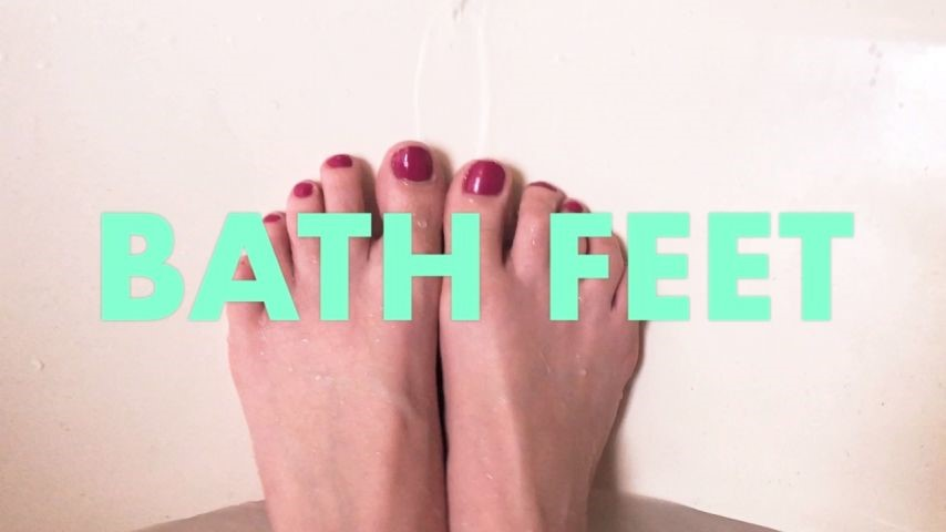 [HD] Dommetomorrow Bath Feet DommeTomorrow - ManyVids-00:05:32 | Foot Worship,Wrinkled Soles,Foot Fetish,Foot Domination,Barefoot - 408,7 MB