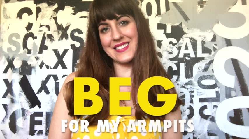 [HD] Dommetomorrow Beg For My Armpits DommeTomorrow - ManyVids-00:10:19   Armpits,Hairy Armpits,Female Domination,Mommy Roleplay,Tease &Amp;Amp; Denial - 96,1 MB