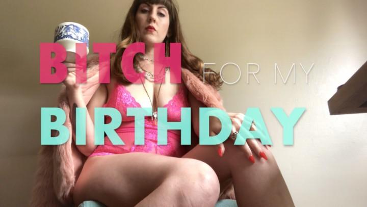 [HD] dommetomorrow bitch for my birthday DommeTomorrow - ManyVids-00:22:11 | Key Holding & Chastity,Foot Domination,Human Ashtray,Humiliation,Tease & Denial - 1,3 GB