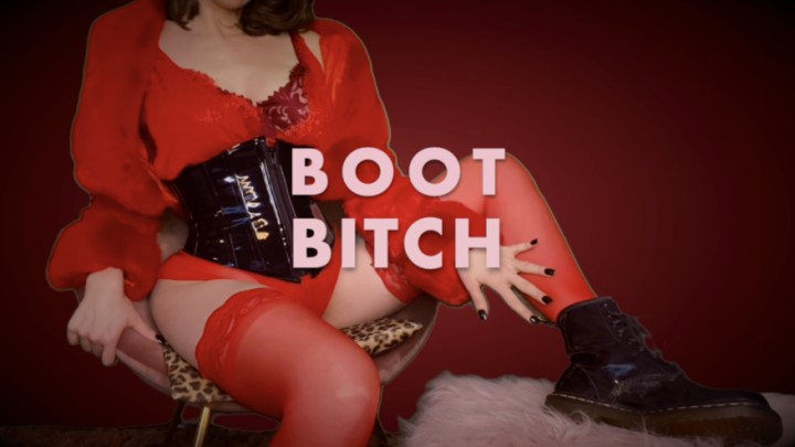 [HD] Dommetomorrow Boot Bitch DommeTomorrow - ManyVids-00:10:04 | Boot Domination,Boot Fetish,Shoe &Amp;Amp; Boot Worship,Boots,Femdom POV,SFW - 80 MB