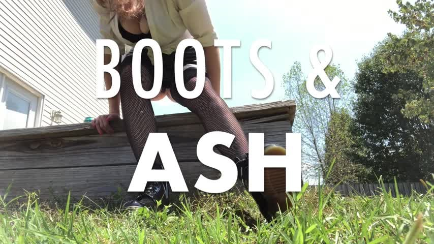 [Full HD] Dommetomorrow Boots Ash DommeTomorrow - ManyVids-00:04:21 | Human Ashtray,Boot Domination,Boot Fetish,Smoking,Shoe &Amp;Amp; Boot Worship - 631,9 MB
