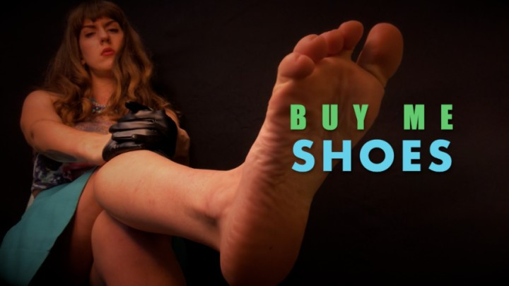[Full HD] Dommetomorrow Buy Me Shoes DommeTomorrow - ManyVids-00:07:13 | Foot Domination,Financial Domination,Foot Slave Training,MILF,Shoe &Amp;Amp; Boot Worship - 1 GB