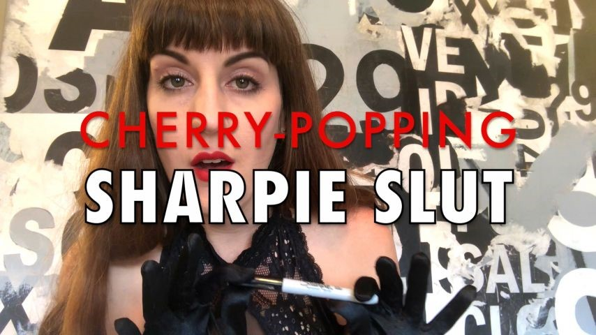[Full HD] Dommetomorrow Cherry Popping Sharpie Slut DommeTomorrow - ManyVids-00:07:44 | Anal Play,Butt Plug,Female Domination,Sissy Training,Slut Training - 1,1 GB