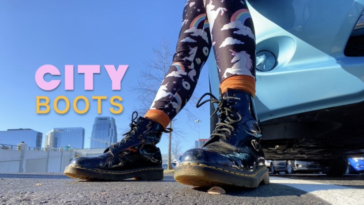 [Full HD] Dommetomorrow City Boots DommeTomorrow - ManyVids-00:06:58   Boot Domination,Boot Fetish,Boots,Outdoors,Shoe &Amp;Amp; Boot Worship - 1006,3 MB