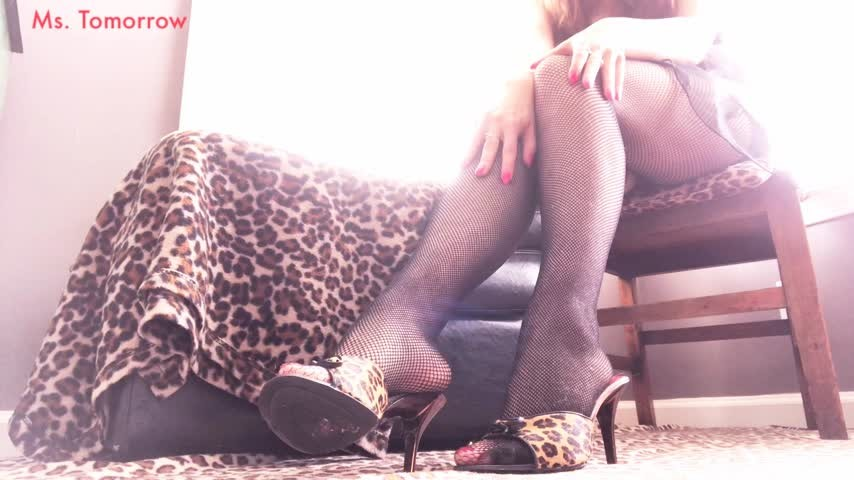 [HD] Dommetomorrow Clean My Heels Fishnets Feet DommeTomorrow - ManyVids-00:06:34 | Foot Domination,Dirty Shoe,Fishnets,Dirty Feet,High Heels - 483,7 MB